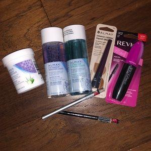 Bundle of NWT Almay Revlon w&w beauty products
